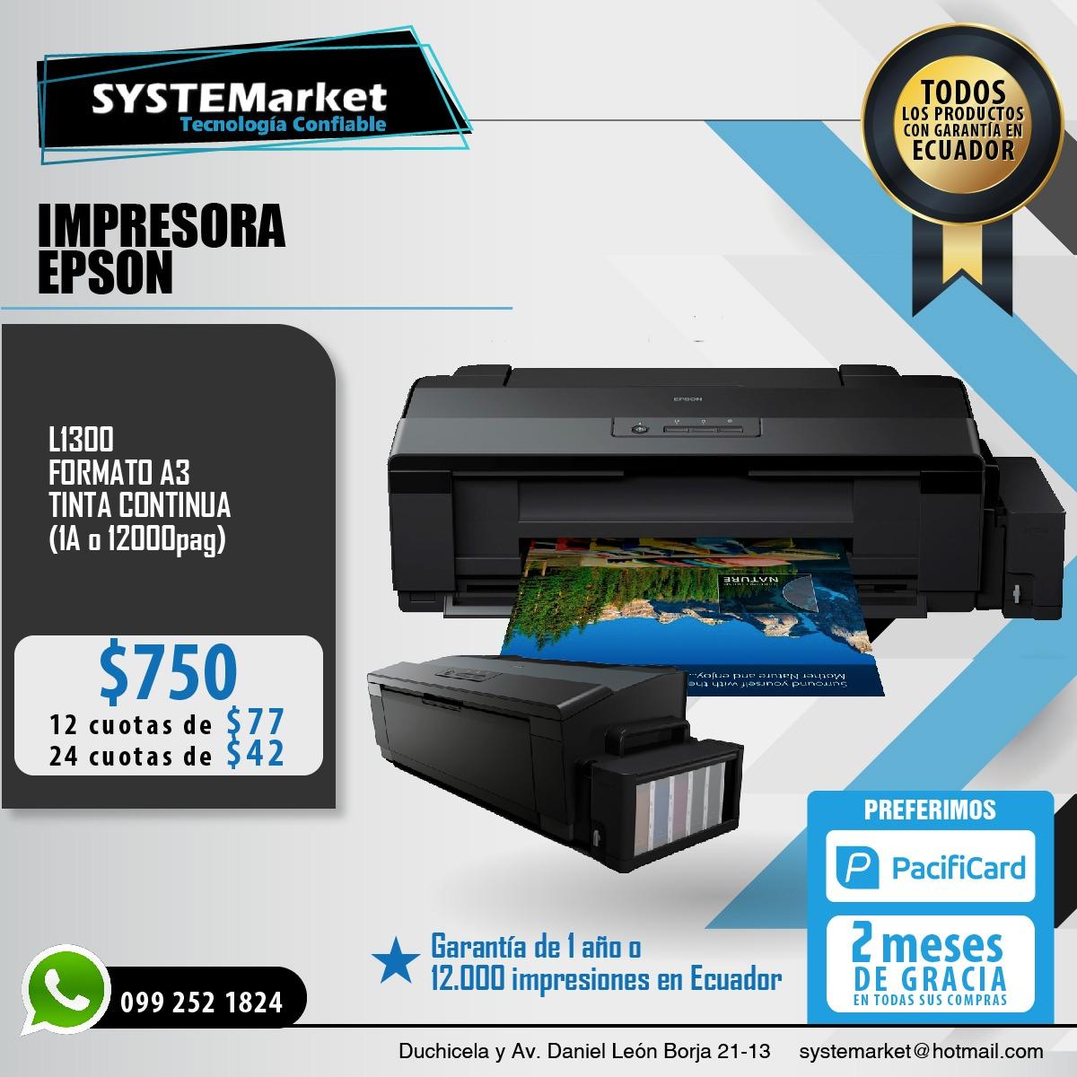 Impresora EPSON L1300