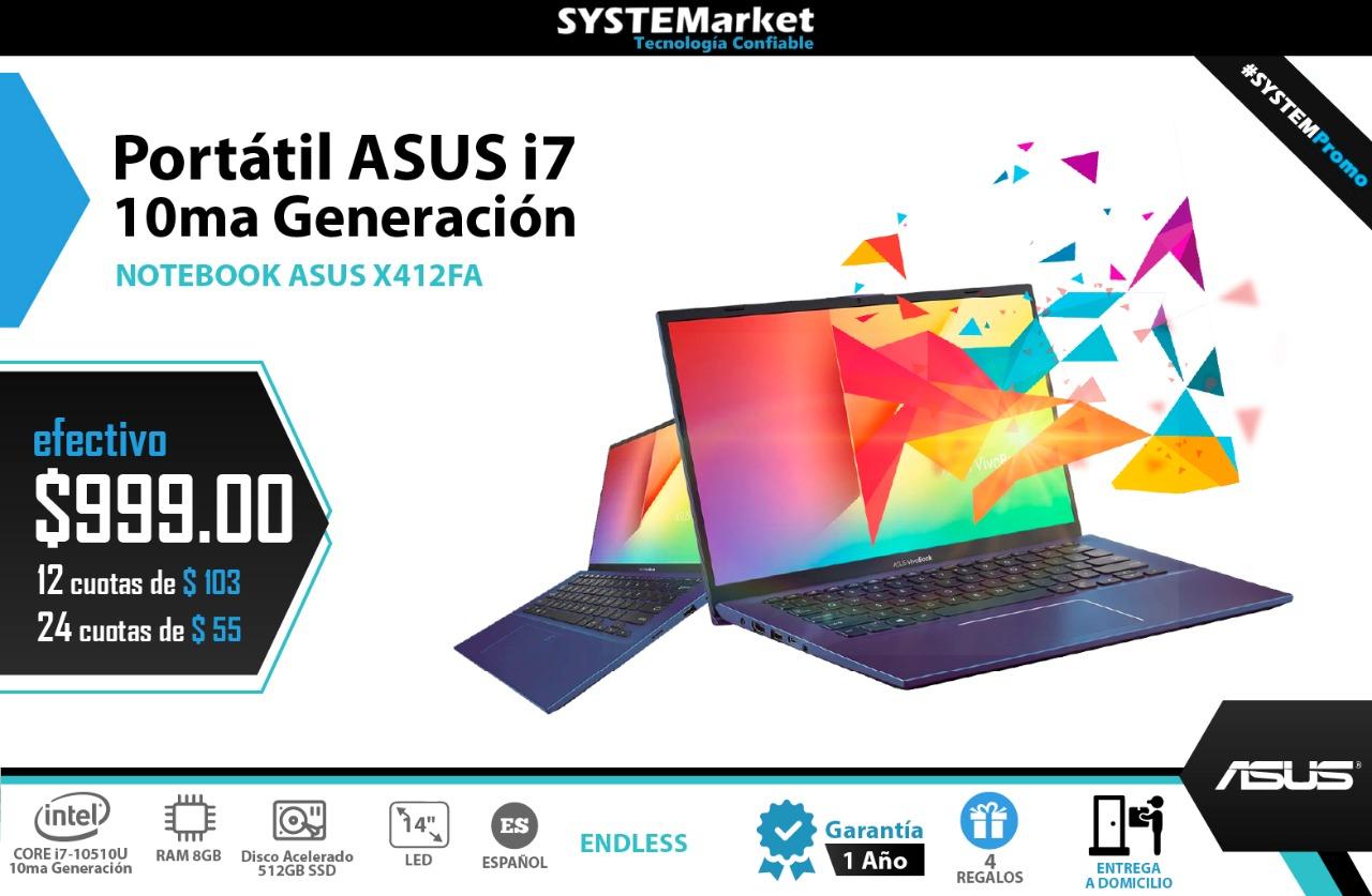 ASUS I7 X412