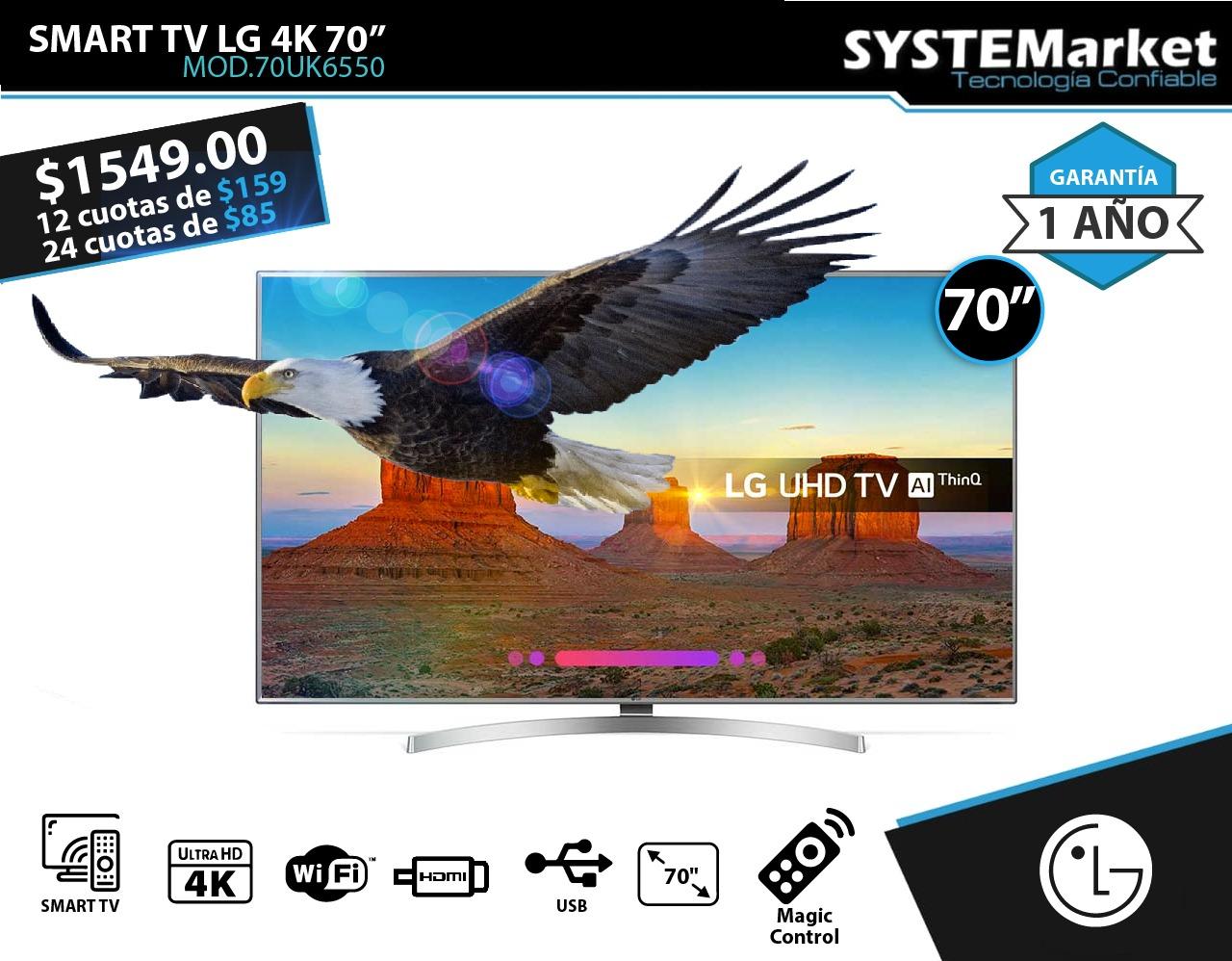TV  LG 70″