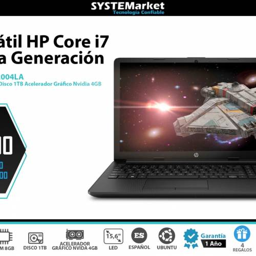 NOTEBOOK HP I7- da2004