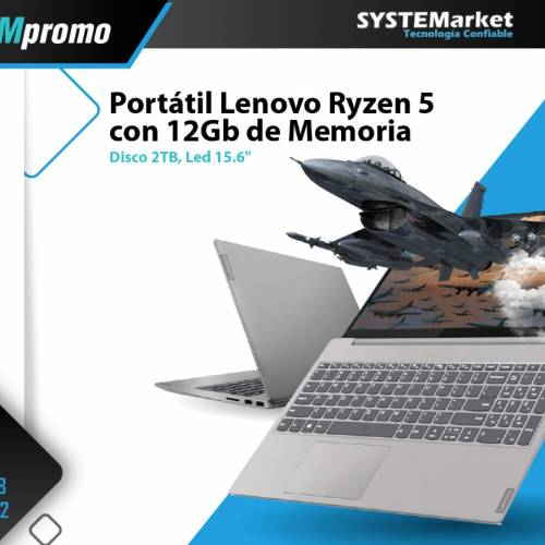NOTEBOOK LENOVO RYZEN 5