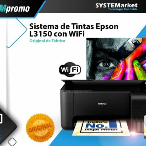 IMPRESORA EPSON L3150 WIFI